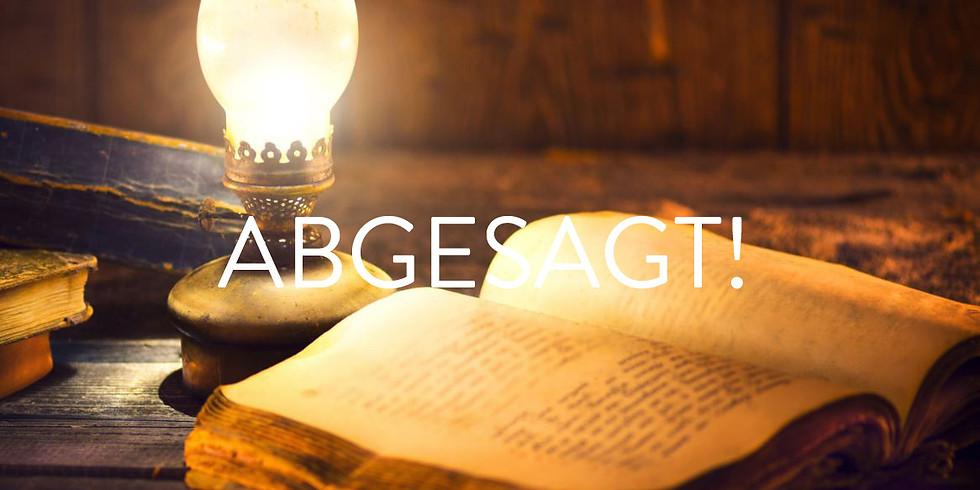 ABGESAGT! Vortrag Akasha Chronik