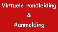 Button virtuele rondleiding en aanmeldin