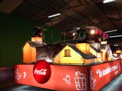 Caravana Navideña Coca Cola