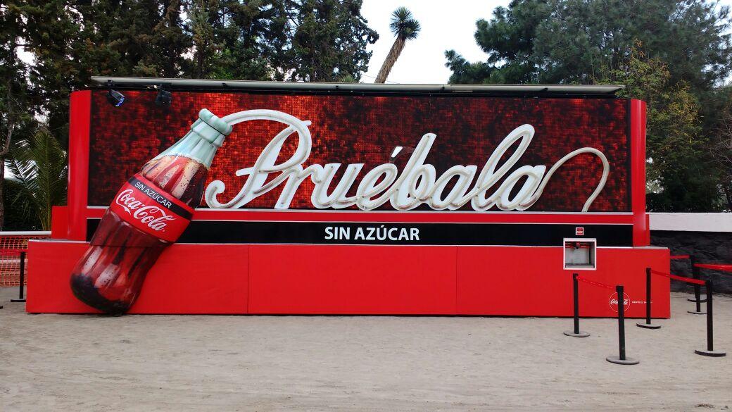 Billboard Móvil Coca Cola