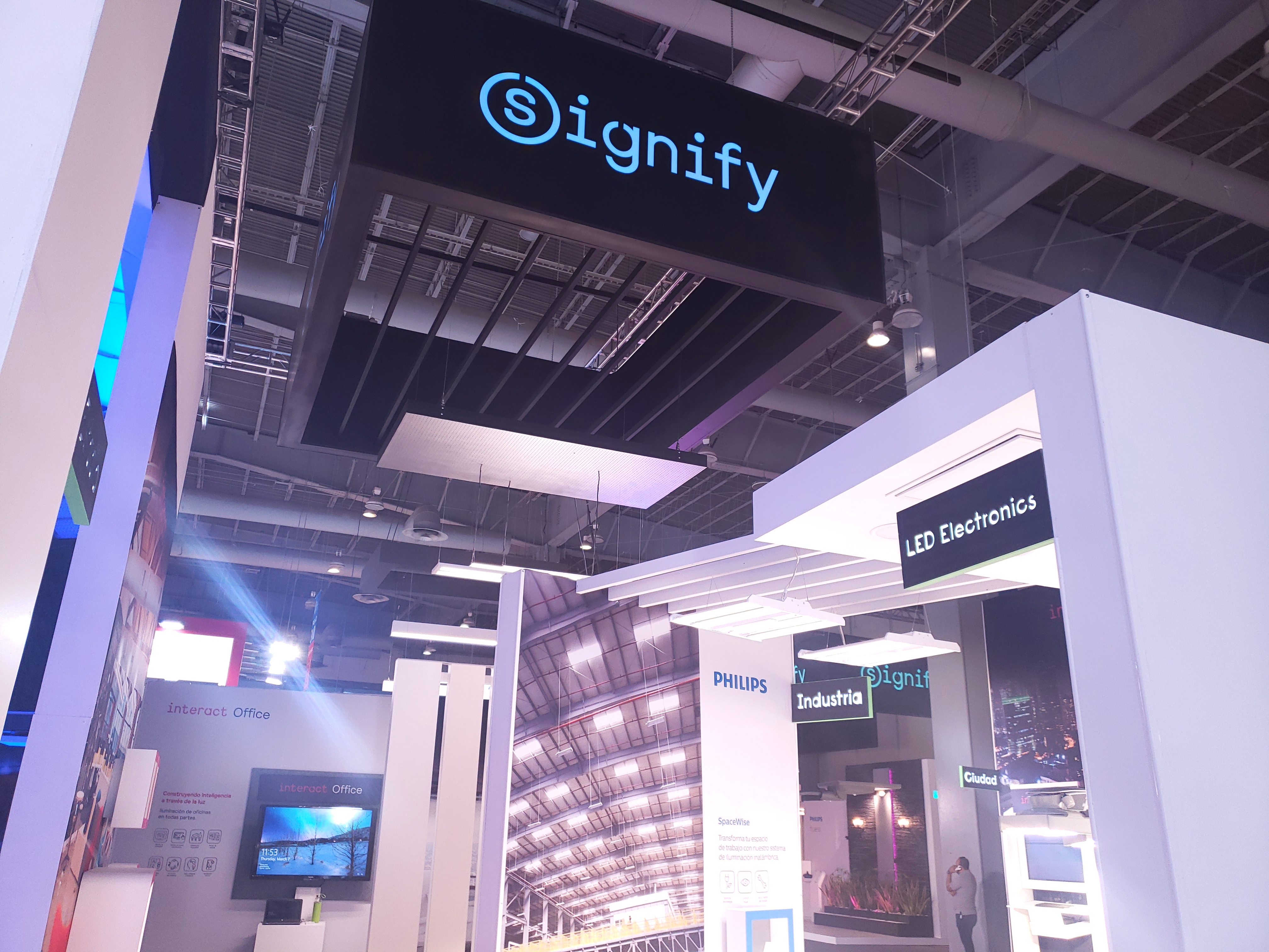 Stand 270 m2_Signify ELA 2019