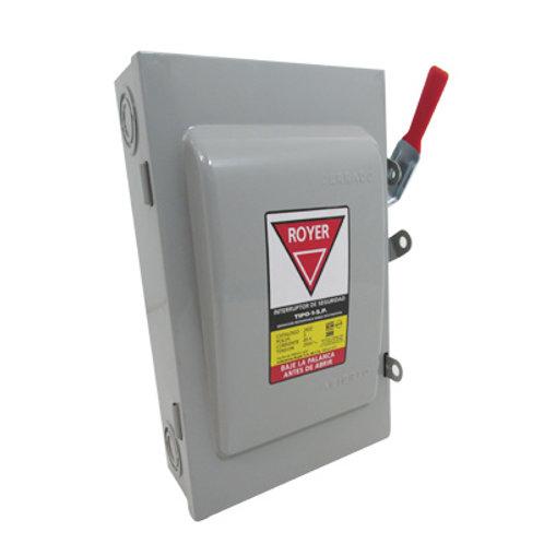 Interruptor de cuchillas 30 Amp (pz)
