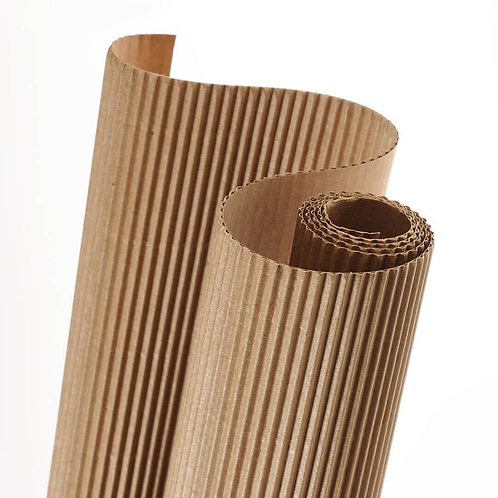 Cartón corrugado de 1.60m ancho (m)