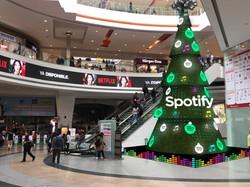 Árbol naavideño Spotify
