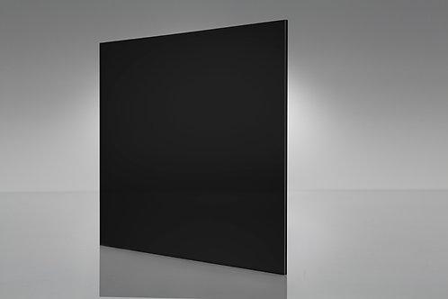 Acrílico negro 6mm 120 x 240 (hoja)