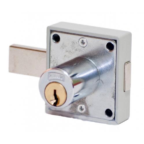 Cerradura para closet cromo 250CH (pz)
