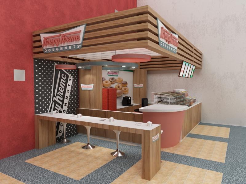 Kiosco Krispy Kreme