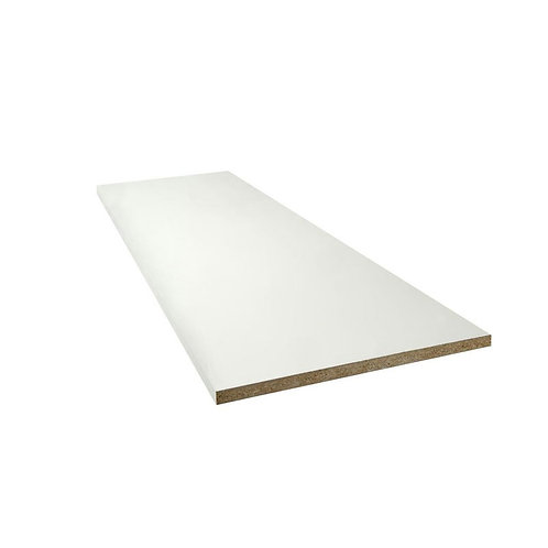 MDF 4.6 mm 2/c blanco (hoja)