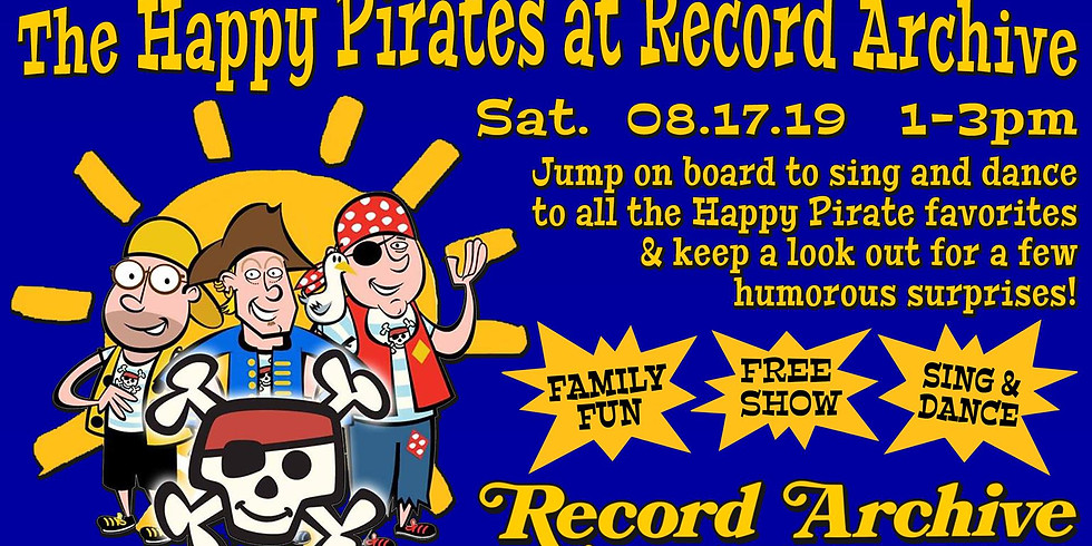 The Happy Pirates at Record Archive