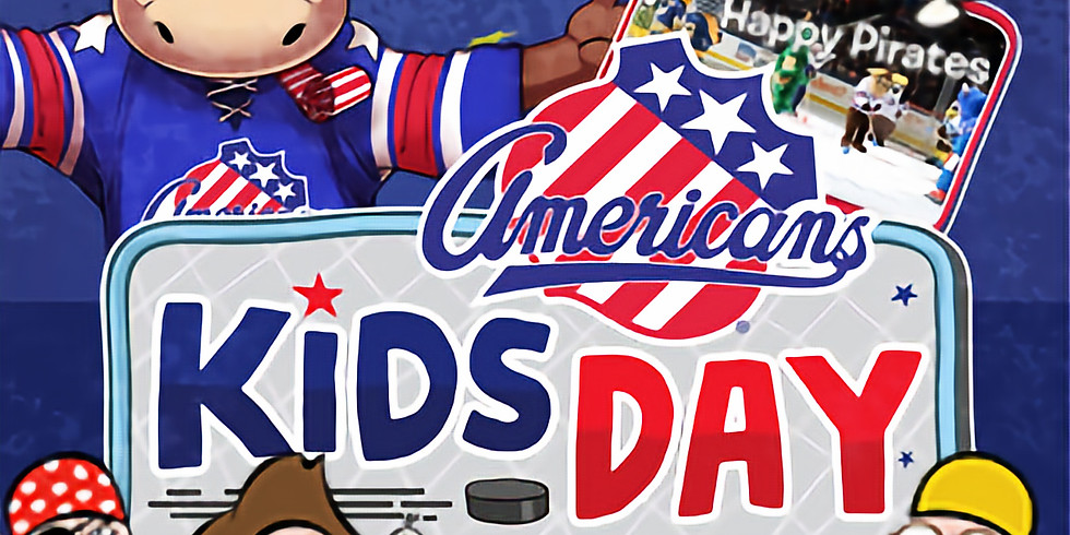 Rochester Amerks Moose's Birthday/ Kids Day (APPEARANCE ONLY)