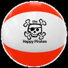The Happy Pirates Beach Ball