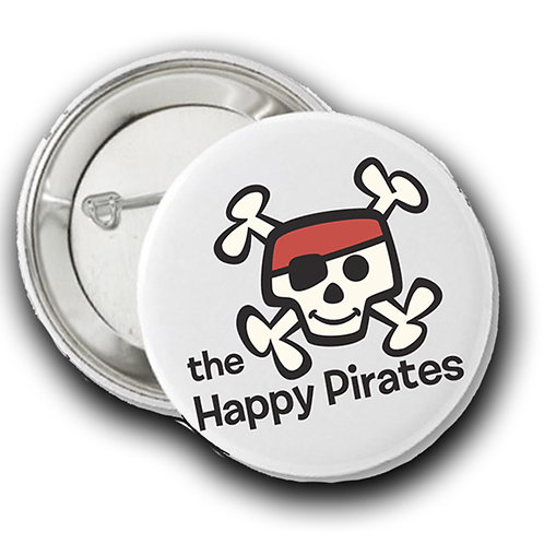 The Happy Pirate Buttons