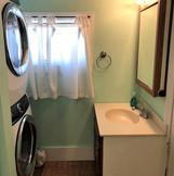 Master Bathroom and Wash Machine, Dryer