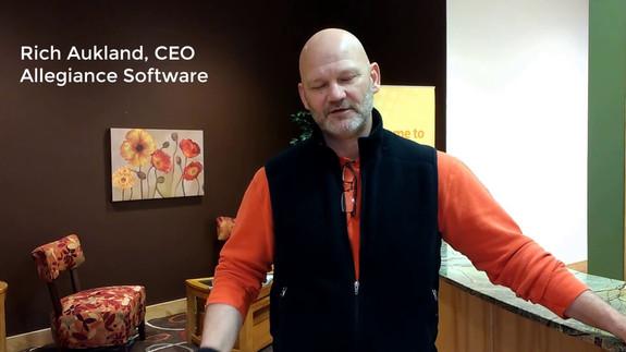 Rich Aukland, CEO of Allegiance