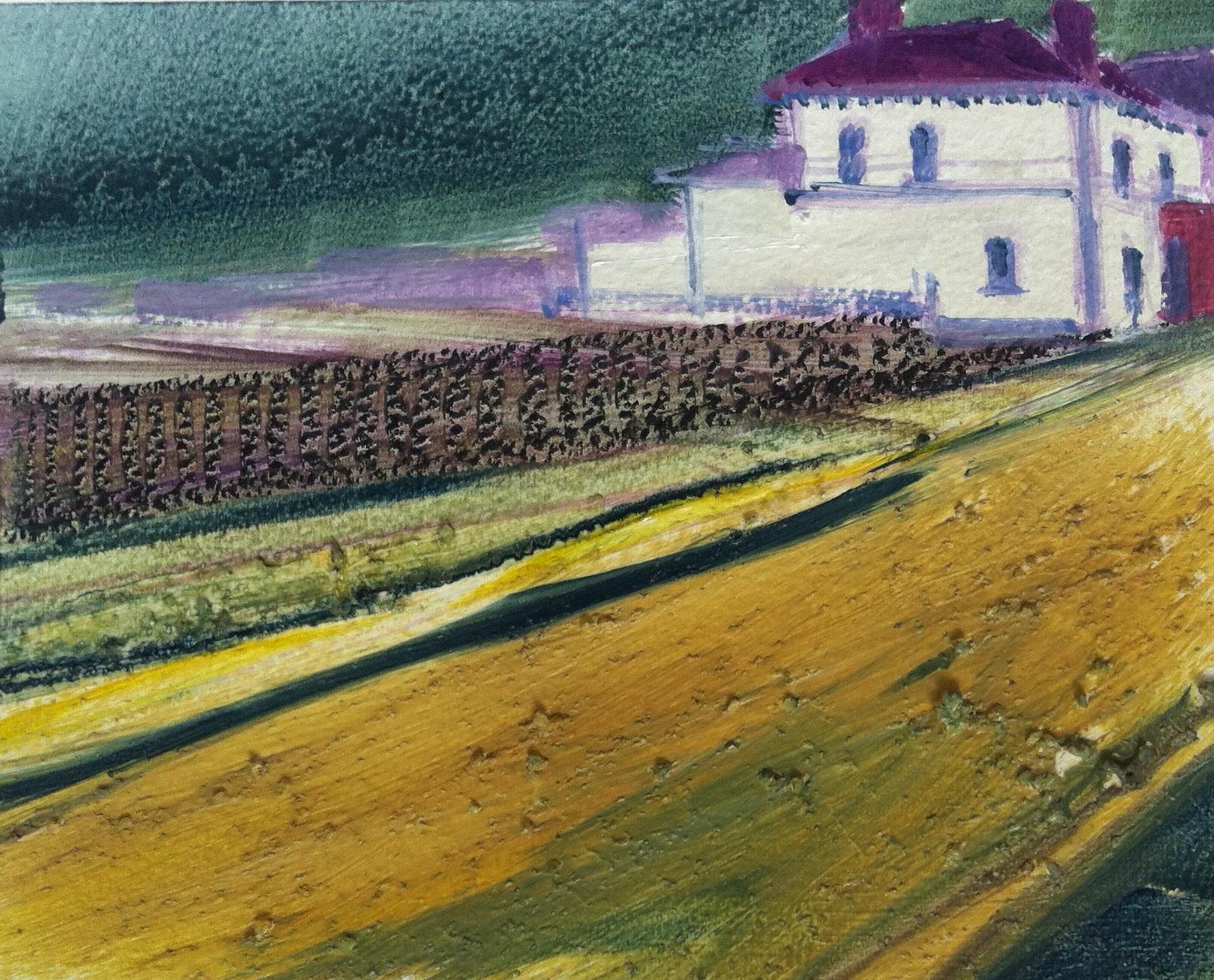 Gillian Holding Edgelands (Commercial Inn study) (2013) oil on paper, .jpg