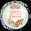 Thumbnail: Floral Plaque Hen Party Badges 12+