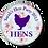 Thumbnail: Floral Hen Silhouette Hen Party Badges 12+