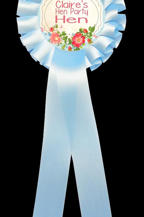 Set of 6+ Floral Plaque