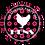 Thumbnail: Flower Hen Silhouette Hen Party Badges 12+