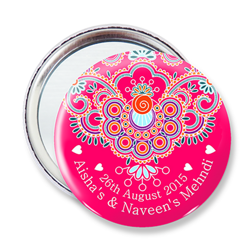 Sweet Swirl Pocket Mirror
