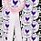 Thumbnail: Floral Hen Silhouette Hen Party Rosete & Badges