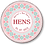 Thumbnail: Tribal Print Hen Party Badges 12+