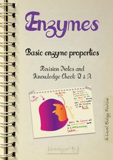 Enzymes - Basic Properties PDF