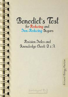 Benedict's test PDF