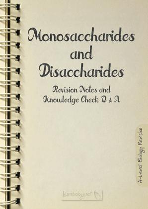 Monosaccharides and Disaccharides PDF