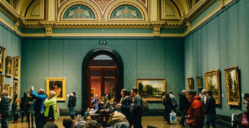 Collezione d'arte: patrimonio vicino al cuore