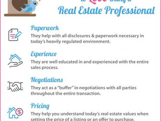 5 Reasons to Love Using a Real Estate Professional!
