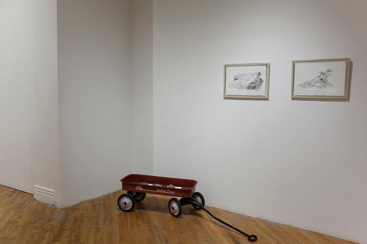 Installation Cartae Open School Exhibition