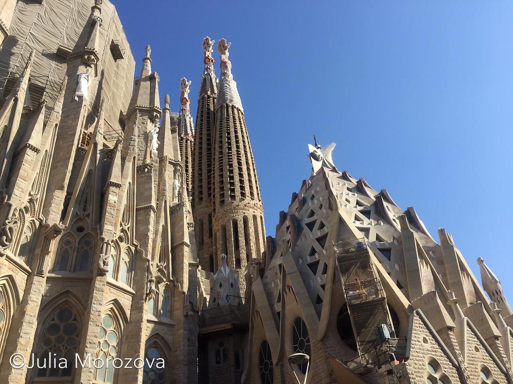 Барселона, Sagrada Familia, by Julia Morozova