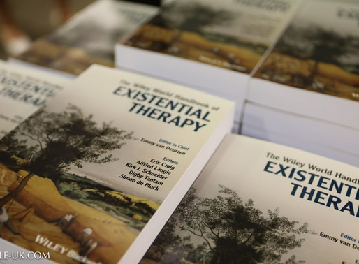 19 September 2019. The Wiley World Handbook of Existential Therapy, Book launch