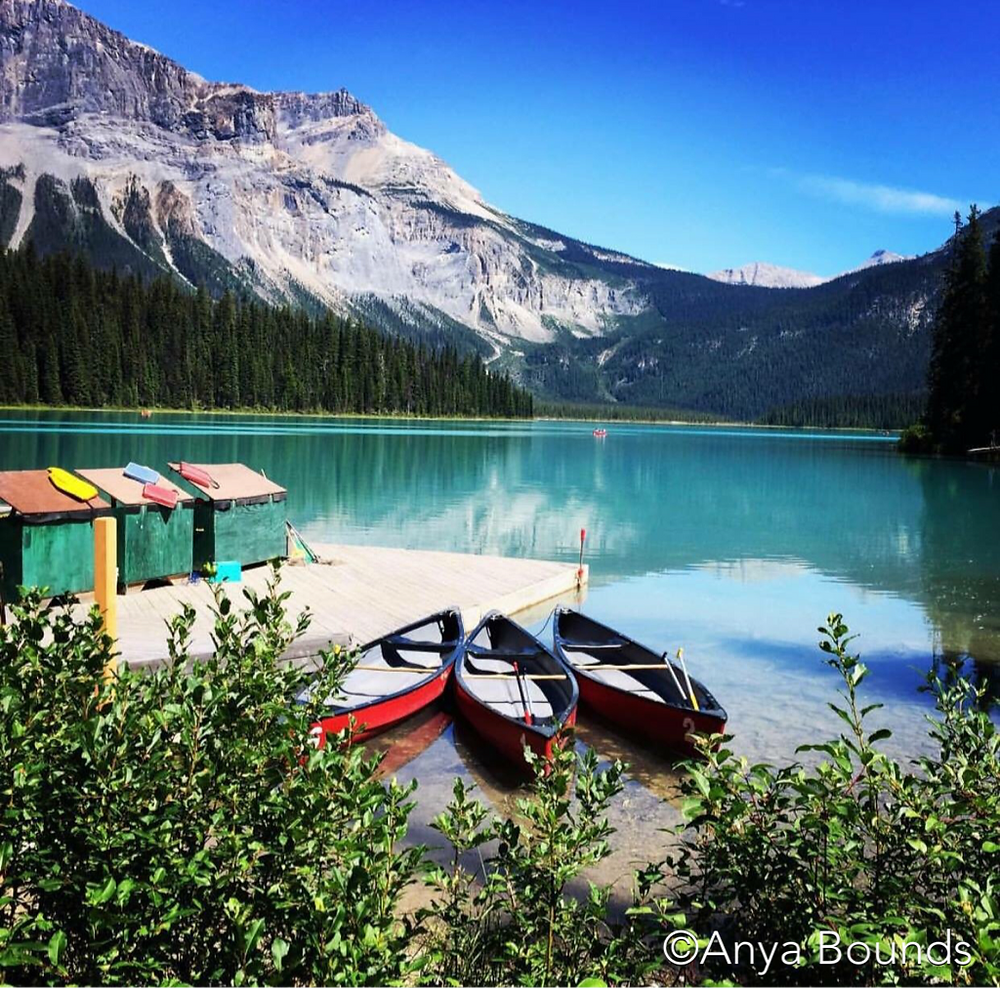 Lake Emerald, Canada, by Anya Bounds