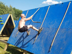 mission ready veteran at obstacle course