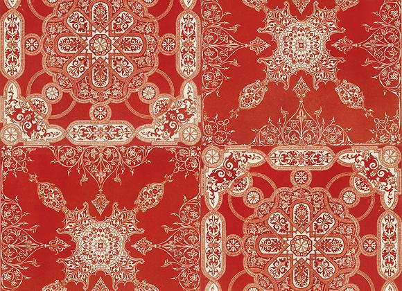 Marrakech azulejo rojo