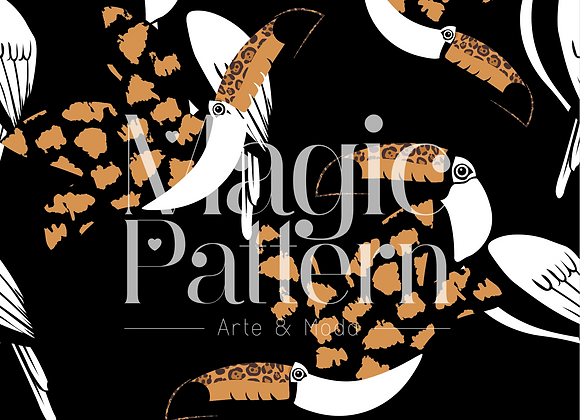 Tucan animal print