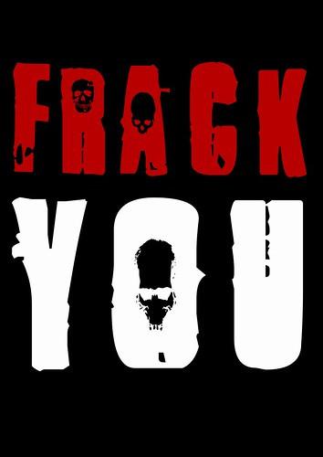 Frack you - poster