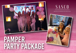 Pamper Party Package