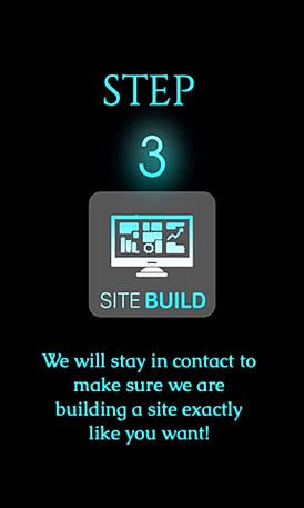 step three for website or logo checkout on Phoenix Design Co