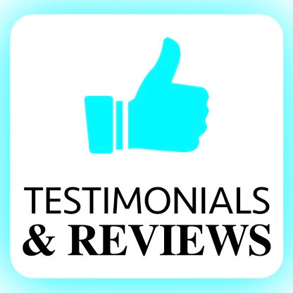 Testimonial/Reviews Section/Page