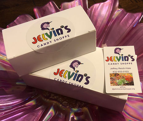 Jelvins Candy Shoppe Gift Box
