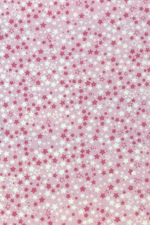 Pink And White Stars