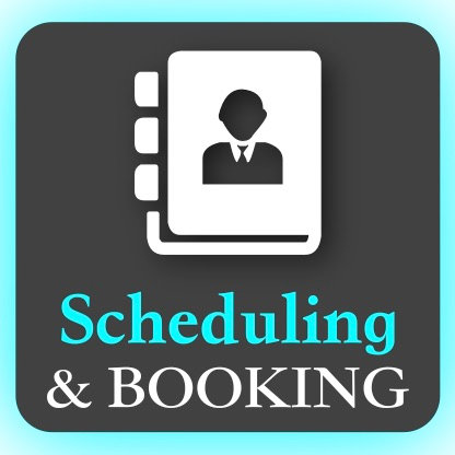 Booking/Scheduling Pages