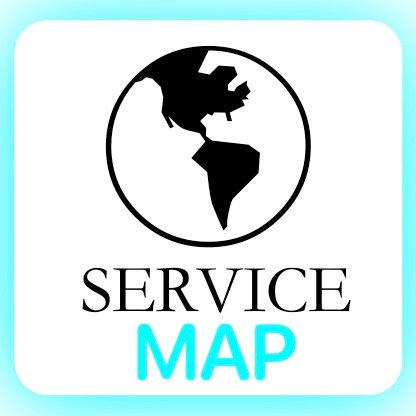 Location/Service Area Map