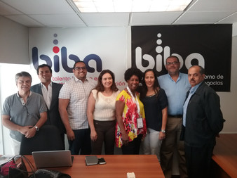 Dr. Cheryl with BibaTechnology Team in C