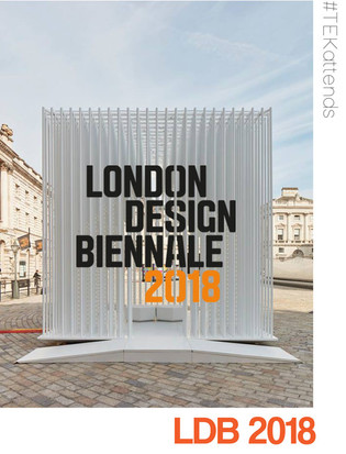 During our trip to London Design Festival 2018, we made sure to spend time at the incredible and thought provoking London Design Biennale. This year, 40 countries, cities and territories united under one roof at the beautiful Somerset House to reveal how design influences our emotions inspired by the theme 'Emotional States'...