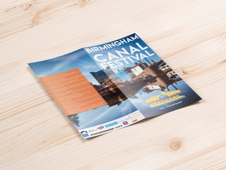 Birmingham Canal Festival ~ design and events