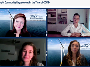 Reflections from the AWEA Offshore WINDPOWER 2020 Virtual Summit